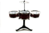 KBnBS Mini Jazz Drum Set For Kids (Red)