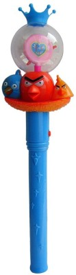 Shoplorry Musical Instruments & Toys Shoplorry Blue Color Angry Birds Musical Flash Torch