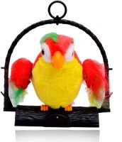 Planet Of Toys Talk Back Parrot (Red)