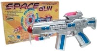 Rahul Toys Light And Sound Gun For Kids (Multicolor)