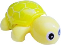 Shop & Shoppee Mini Tortoise Toy With Flash Light (Yellow)