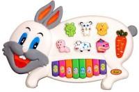 Baby World Musical Rabbit Piano (Multicolor)