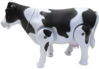 Foocat Kids Toys Milk Cow Musical Playing Toy (White)