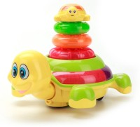 Mingwei Stacking Lovely Tortoise Battery Operated Musical Toy (Multicolor)
