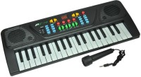 Prro 37 Key Electronic Melody Piano - Black (Multicolor)