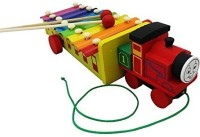 Shopaholic Thomas Train Shape Xylophone (Multicolor)