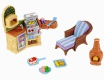 Fisher Price Dolls & Doll Houses Fisher Price Loving Family Outdoor BBQ