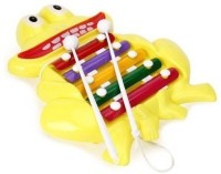 MK Frog Shape Xylophone For Kids (Multicolor)