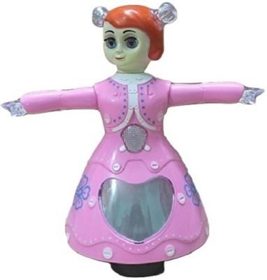 Littlegrin Musical Instruments & Toys Littlegrin Dancing Princess Barbie Girl Gift Toy For Kids