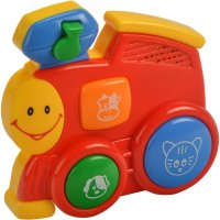 Mee Mee Happy Little Train – Part Of Four Musical Playthings (Red)