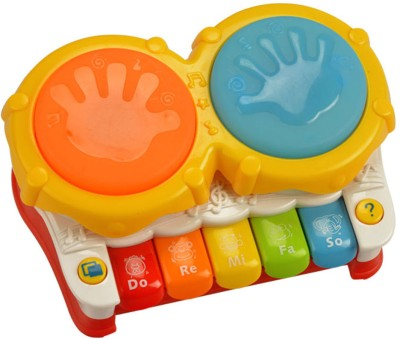 Mee Mee Mini Drum &piano- Musical Toy