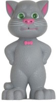 Turban Toys Talking Tom Musical With Touch Sensitive And Recording (Grey)