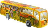Shop4everything Chota Bheem Mad Dancing School Bus With Colorful Lighting (Yellow)