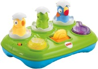 Fisher-Price Musical Pop-Up Eggs (Multicolor)