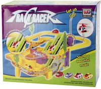 Buds N Blossoms Track Set With Cars (Multicolor)