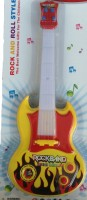 New Pinch Battery Operated Musical Guitar Big With Pop Music Fetching Light And Sound (Multicolor)