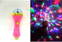 Playking D Lights Handheld Mike Musical Toy (Multicolor)