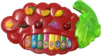 New Pinch Musical Fruit Piano For Kids (Multicolor)