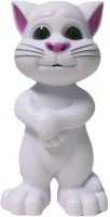 NDS Intelligent Talking Tom Toy With Touch Sensitive And Wonderful Voice (Songs, Stories, Repeats Sentences) (White)