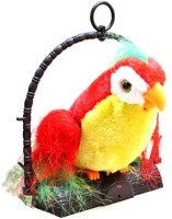 Amrit Gallery Talk Back Parrot(It Records And Repeats What You Say) (Red, Yellow, Green)