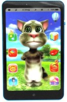 Taaza Garam 3D Battery Operated Talking Tom Interactive Learning Tablet For Kids Children (Multicolor)