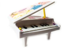 KBNBS Mini Real Piano With Stands And Lights For Kids (Pink)