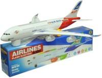 Rahul Toys Musical Aeroplane For Kids (Multicolor)