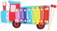 Saleonindia Kids Train Shape Xylophone (Multicolor)