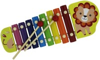 Shopat7 Cartoon Shape Xylophone (Multicolor)