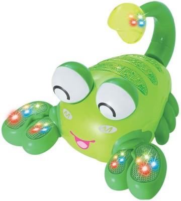 Mitashi Skykidz Aqua Monstor Lobster Buddies Musical Toy (Multicolor)