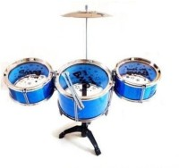 Dinoimpex Dino Phoenix Kid's 6 Piece Mini Jazz Drum Set (Multicolor)