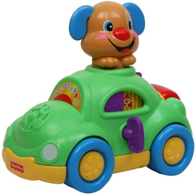 Fisher Price Musical Instruments & Toys Fisher Price Laugh and Learn Puppy's Learning Car