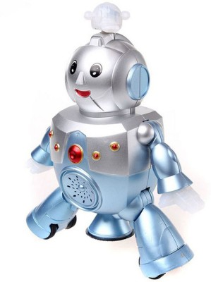 AndAlso Musical Dancing Robot Toy Blue, Silver available at Flipkart for Rs.275