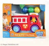 Bright Starts Roll & Pop Fire Truck (Multicolor)