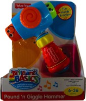 Fisher-Price Brilliant Basics - Pound n' Giggle Hammer: Musical Toy