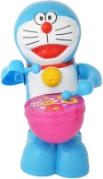 New Pinch Musical Drummer- Battery Operated Toy- Play Drums With Music & Light (Blue)