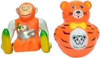 New Pinch Combo Of Musical Monkey And Roly Poly For Kids (Multicolor)