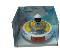 SILTASON SHAKTI UFO MUSICAL TOY (White, Yellow)