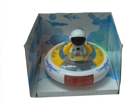 SILTASON SHAKTI UFO MUSICAL TOY (White, Yellow)
