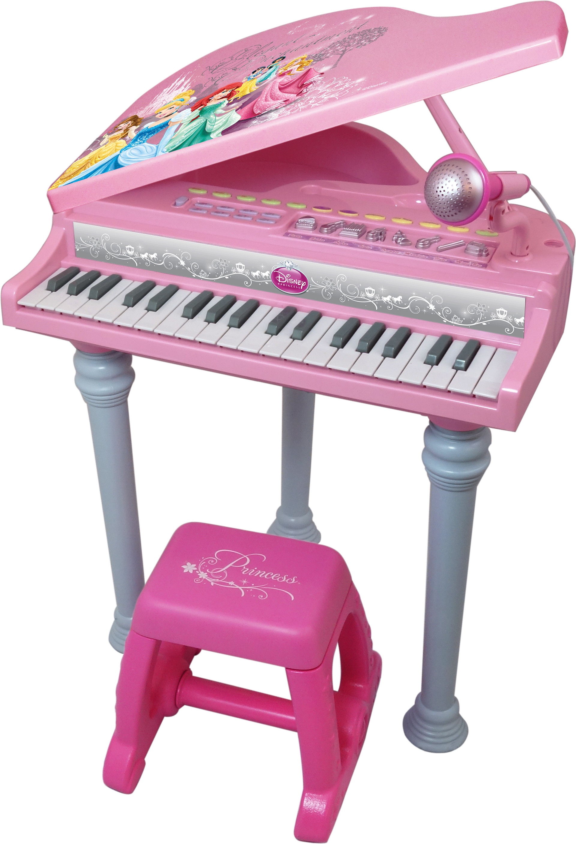 Disney Princess Toy Phone : Winfun disney princess grand piano set