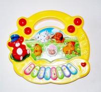 Ruppiee Shoppiee Animal Farm Piano Yellow (Multicolor)