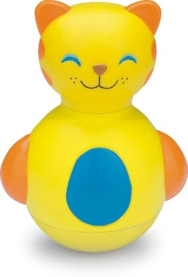 Funworld Kitty Roly Poly (Yellow)