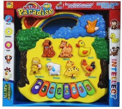 Stuff Jam Musical Instruments & Toys Stuff Jam Kids Animal Paradise Sound Toy With Musical Piano