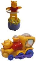 Shop & Shoppee Winnie The Pooh Hula Ring & Pooh Musical Train (Multicolor)
