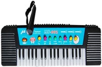 Darling Toys 37 Keys Electronic Musical Melody Keyboard Piano (Black)