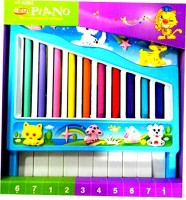 WebKreature Mini Xylophone Piano Musical Toy For Kids (Multicolor)