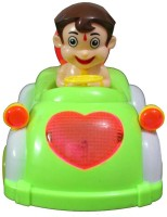 Zaprap Musical Toy Bheem Car (Green)