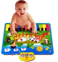 KBnBS Touch Play And Learn Interactive Musical Carpet For Baby Kids (Multicolor)