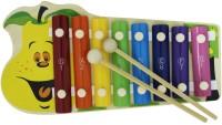 Shopaholic Mango Shape Xylophone (Multicolor)