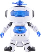 Turban Toys Musical Dancing Robot With 3D Lights (Multicolor)